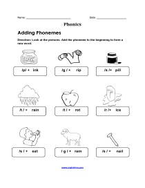 Englishlinx Com Phonics Worksheets
