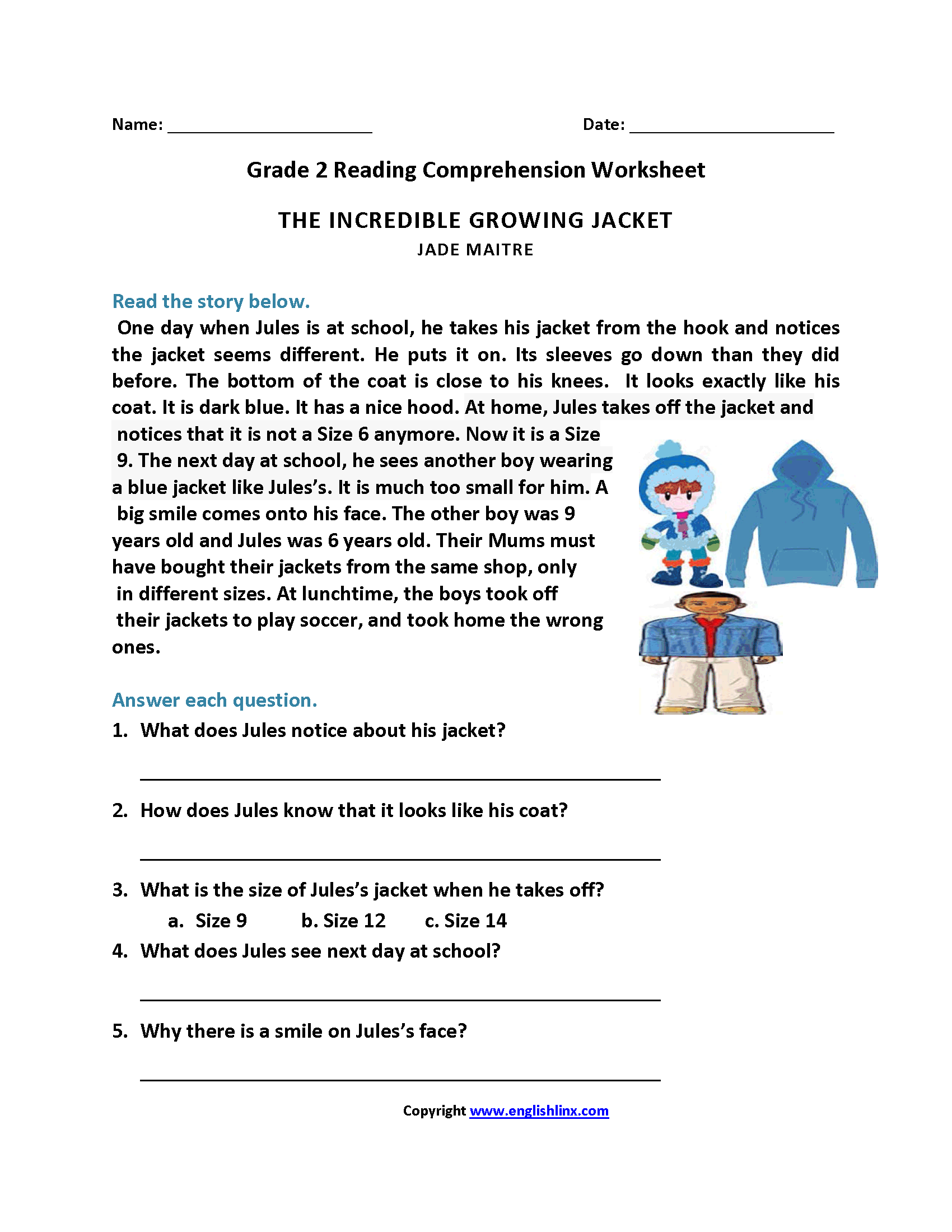 Reading worksheets second grade reading worksheets second grade reading worksheets ibookread ePUb