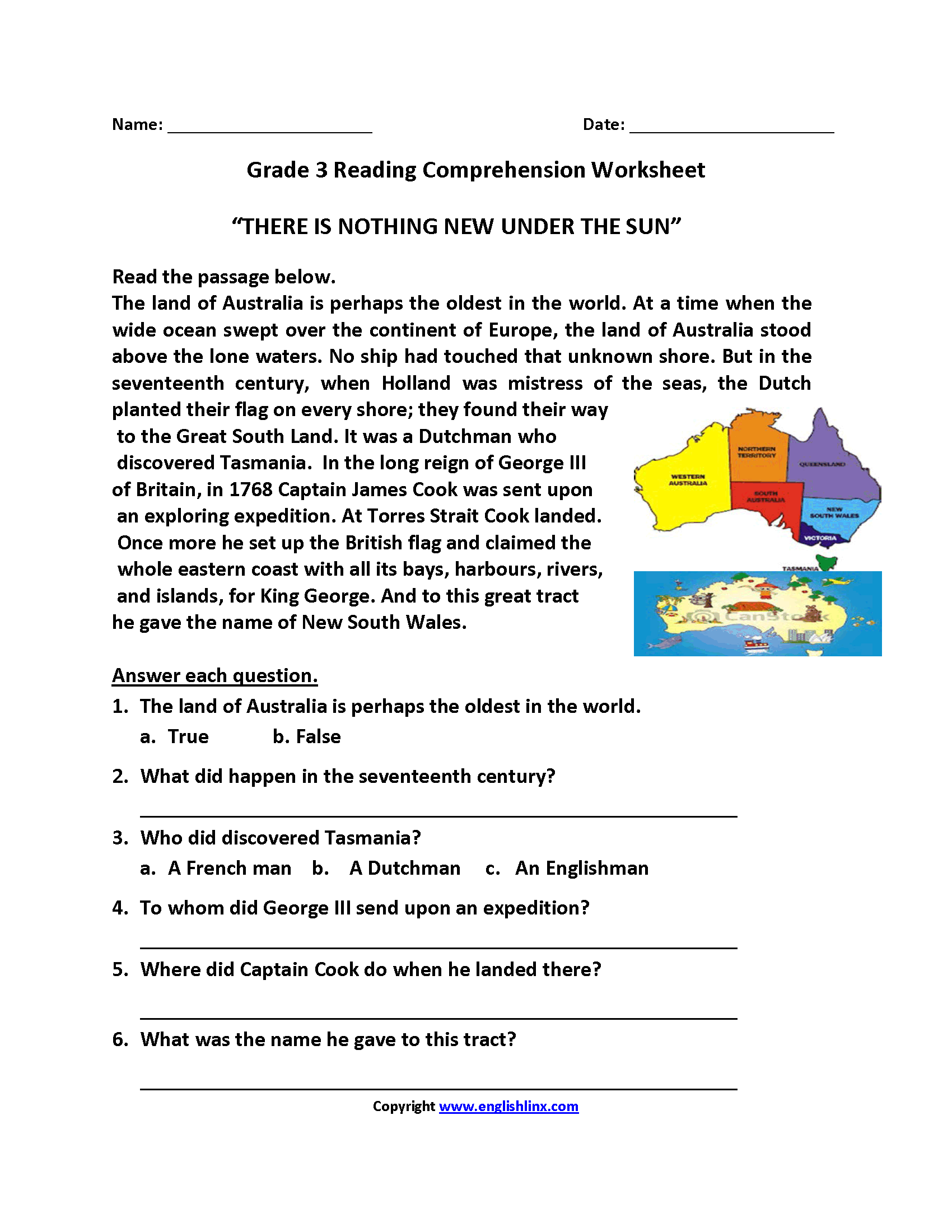 Worksheets French Reading Comprehension Worksheets reading worksheets third grade worksheets
