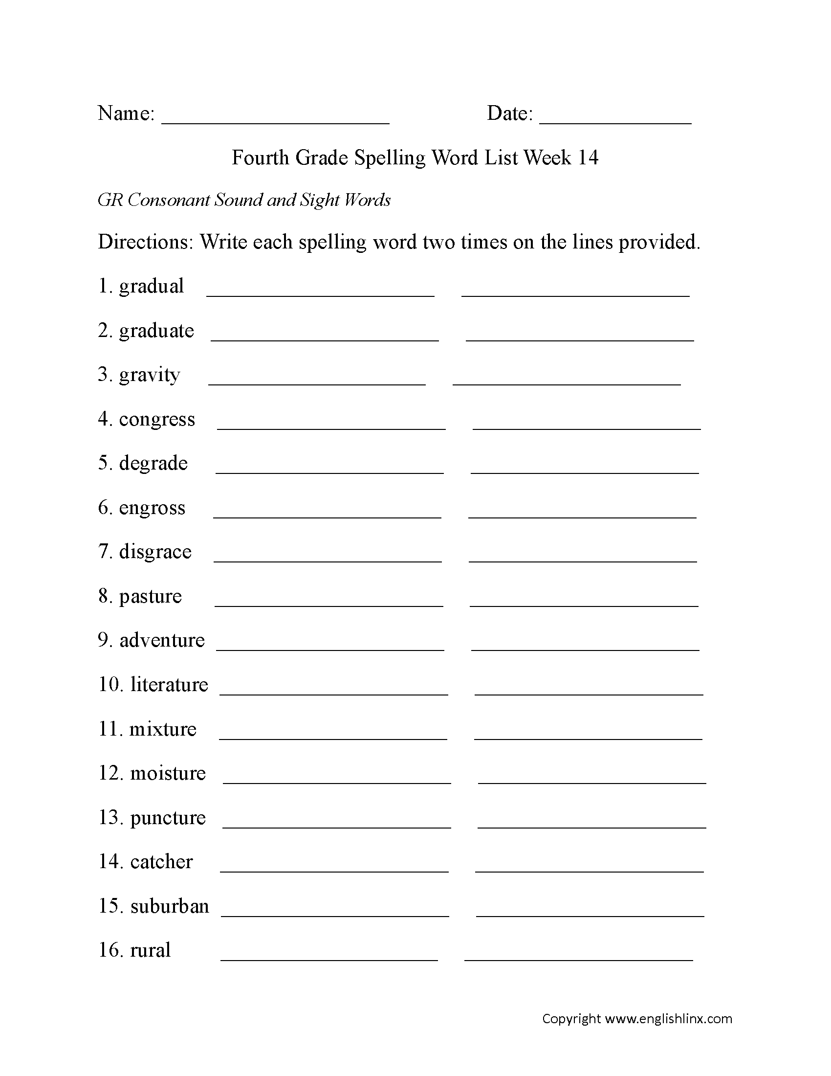 spelling worksheets fourth grade spelling words worksheets. Black Bedroom Furniture Sets. Home Design Ideas