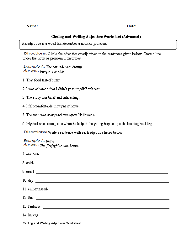 Descriptive writing activity pdf merge