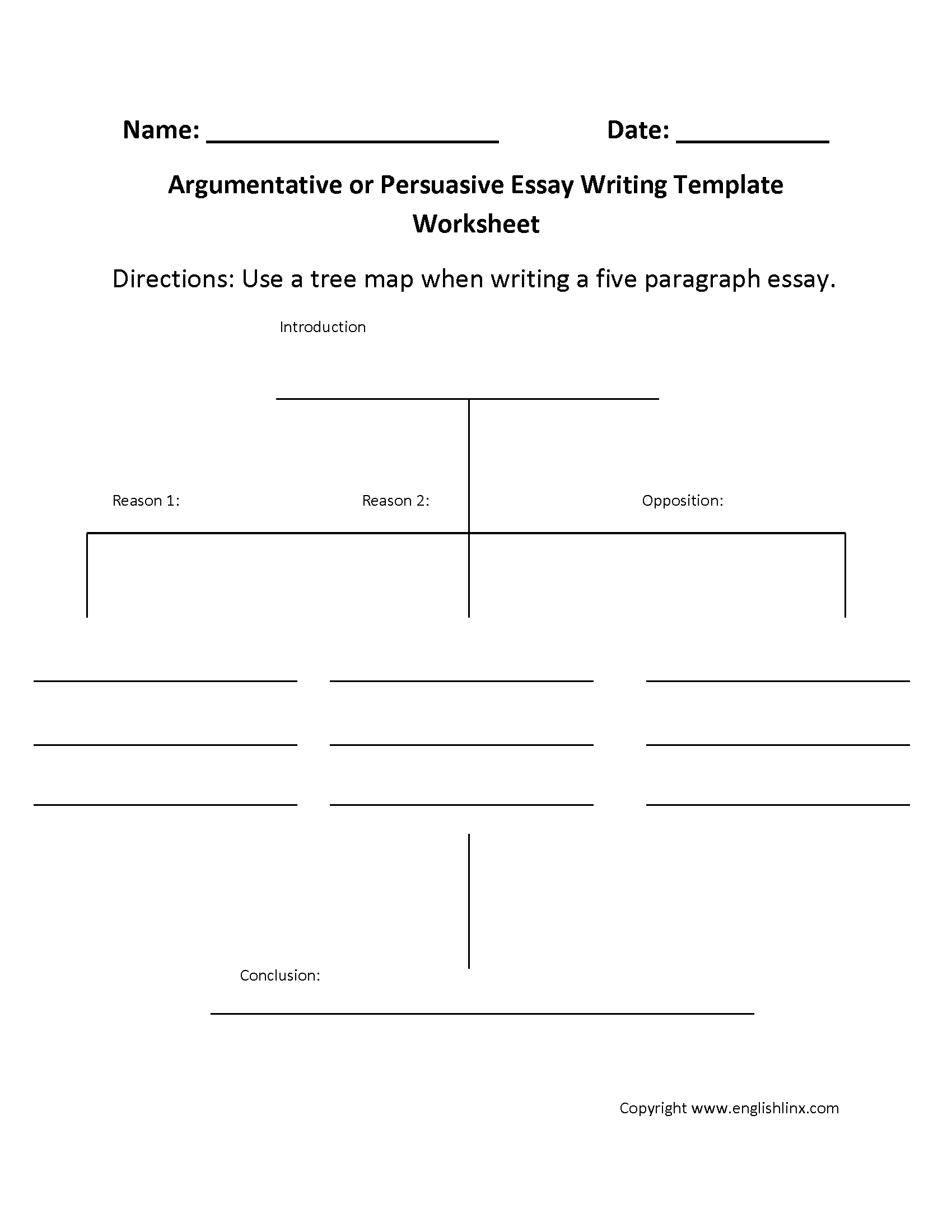Worksheets Five Paragraph Essay Outline Worksheet writing worksheets template worksheet