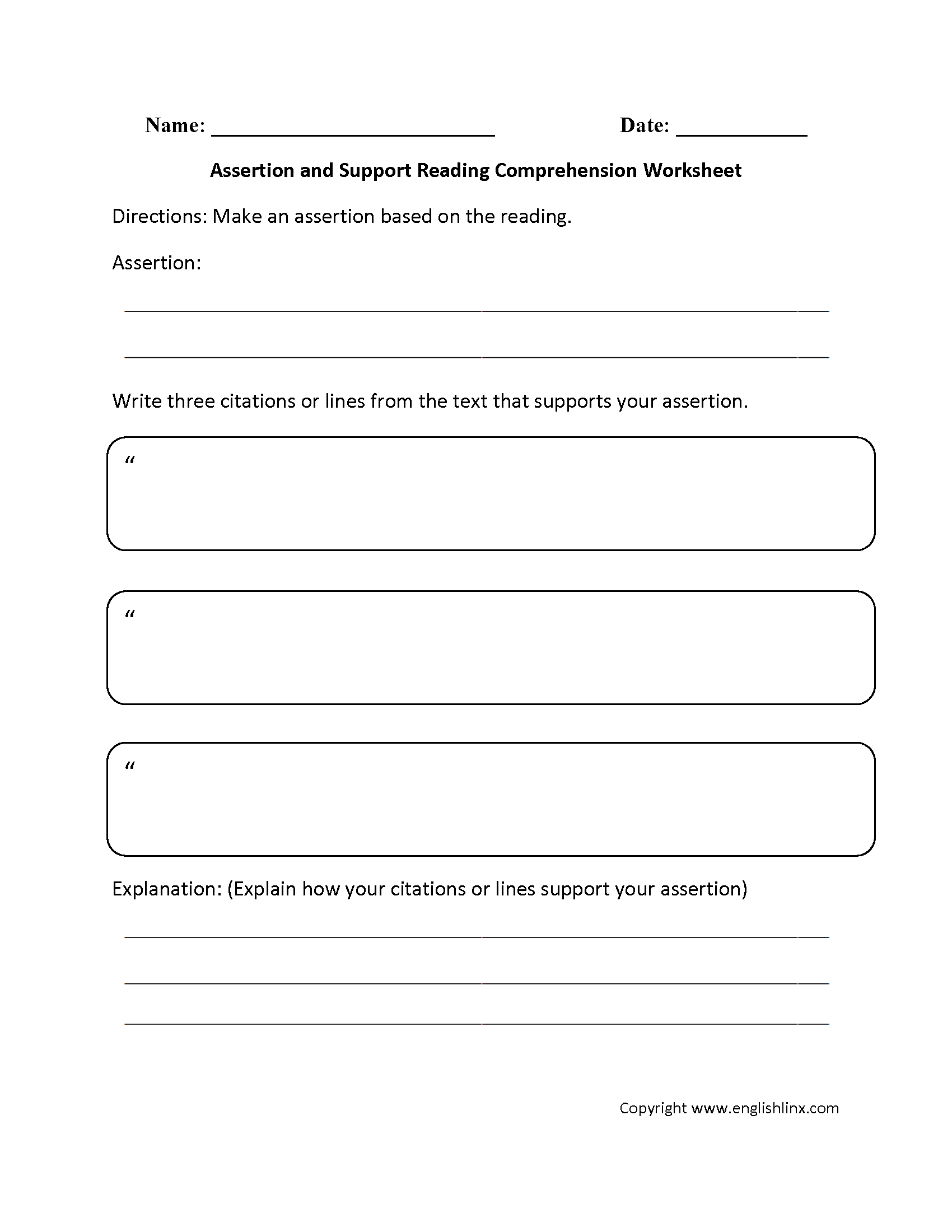 worksheet Reading Comprehension Worksheets Middle School englishlinx com reading comprehension worksheets worksheets