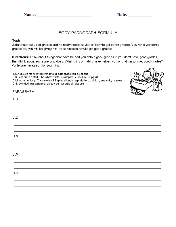 body paragraphs worksheet writing prompt essay This is the paragraph writing worksheets section paragraph writing is the foundation for all essay writing.