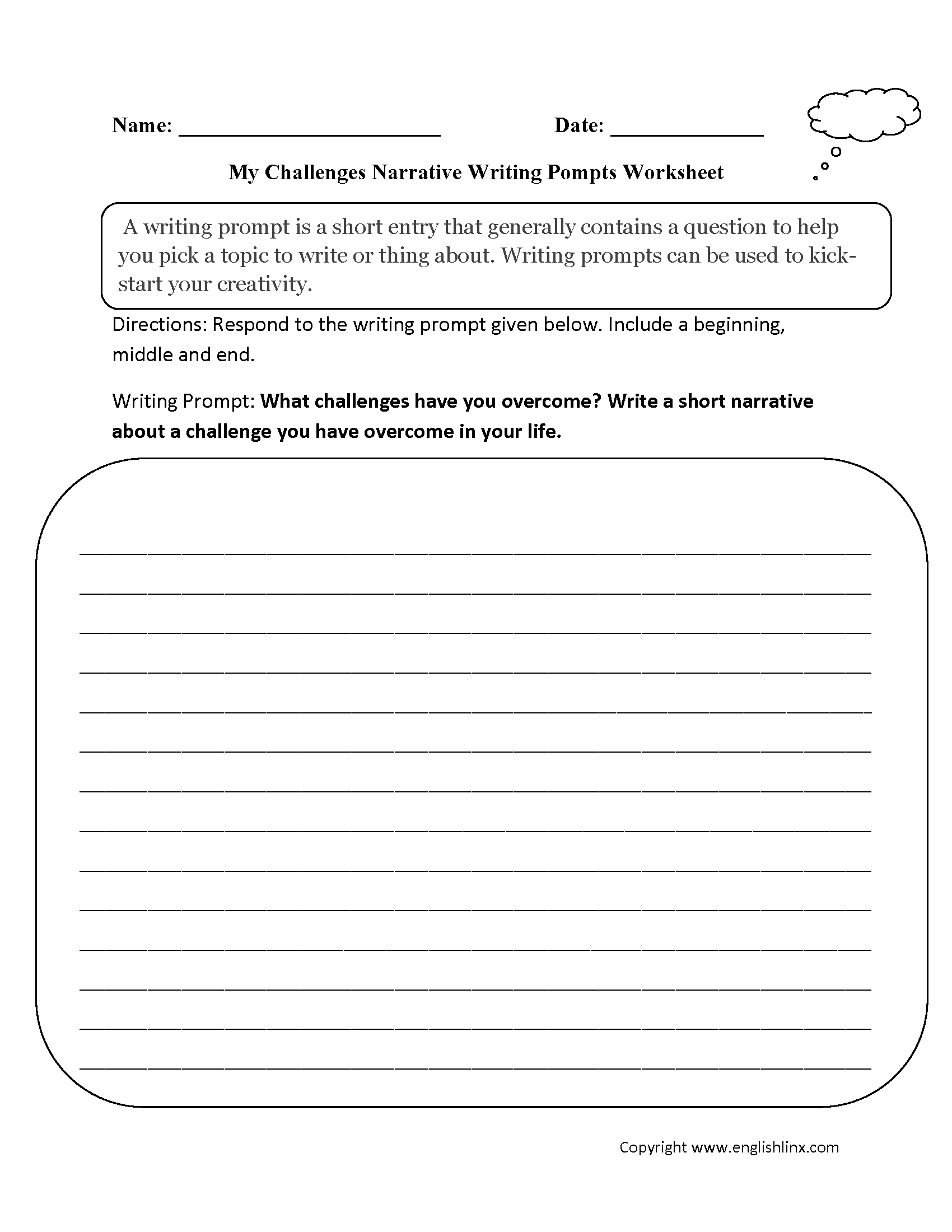 writing prompts worksheets narrative writing prompts worksheets narrative writing prompts worksheets