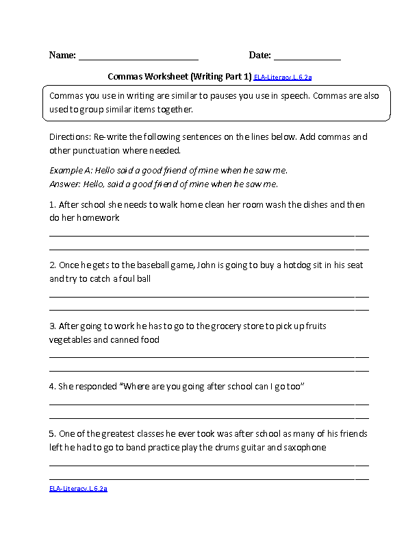 6th Grade Common Core – Osmosis Jones Movie Worksheet