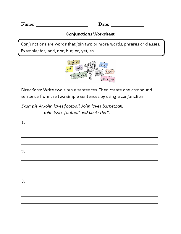 Printables English Worksheets For High School englishlinx com english worksheets conjunctions worksheets