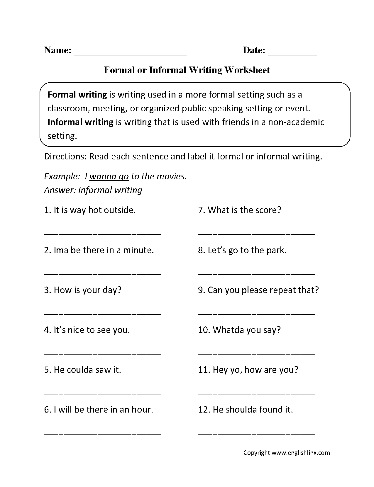 Word Usage Worksheets | Word Choice Worksheets