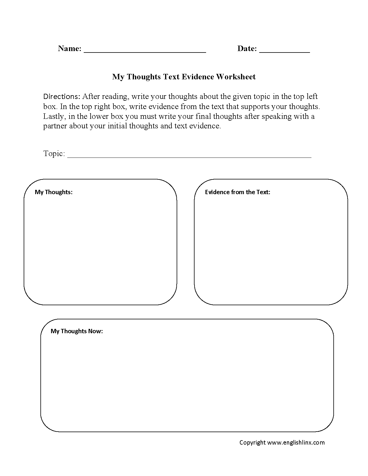 worksheet Citing Evidence Worksheet englishlinx com text evidence worksheets worksheets