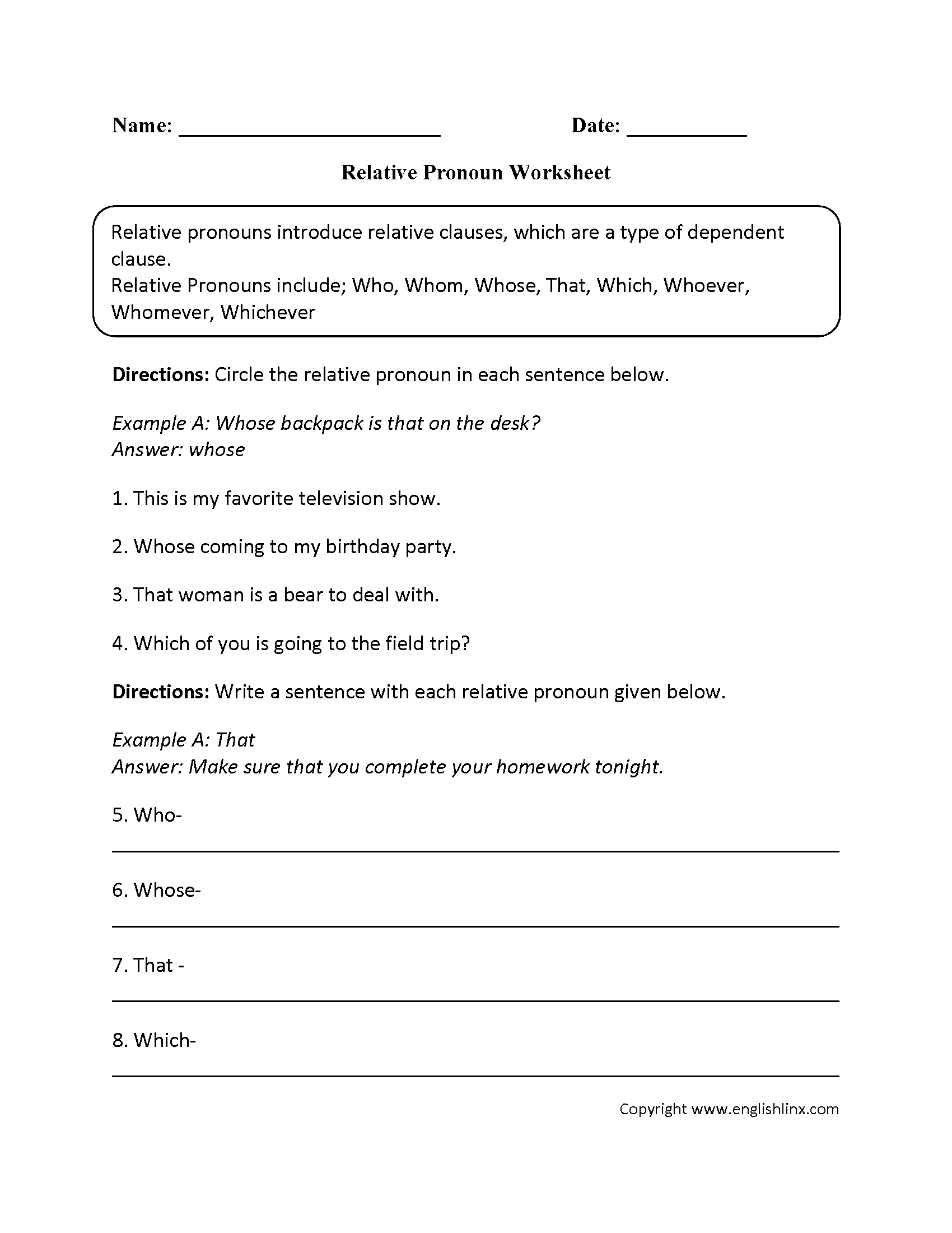 worksheet Reflexive Pronoun Worksheets parts speech worksheets pronoun worksheets
