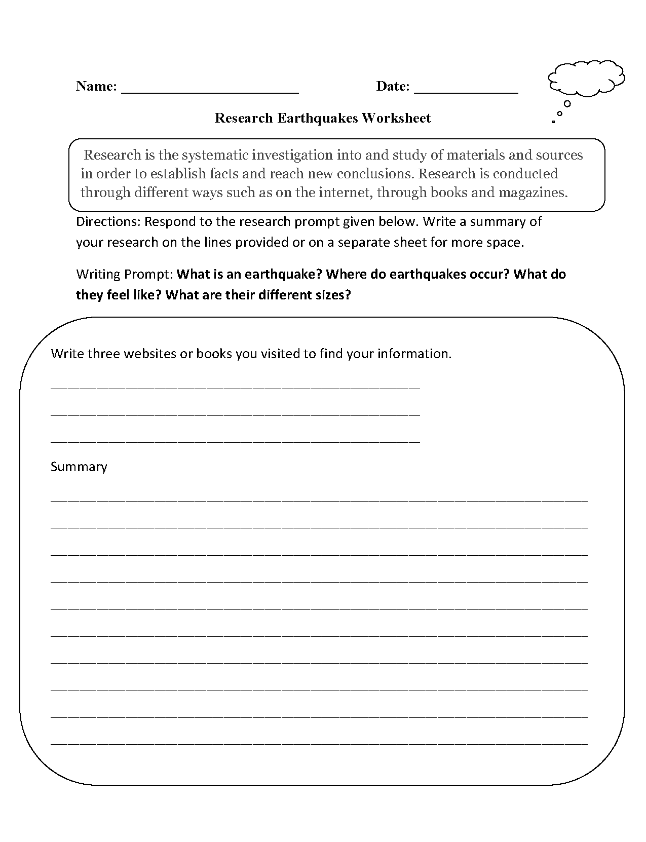 worksheet Earthquakes Worksheet research worksheets earthquakes worksheet worksheet