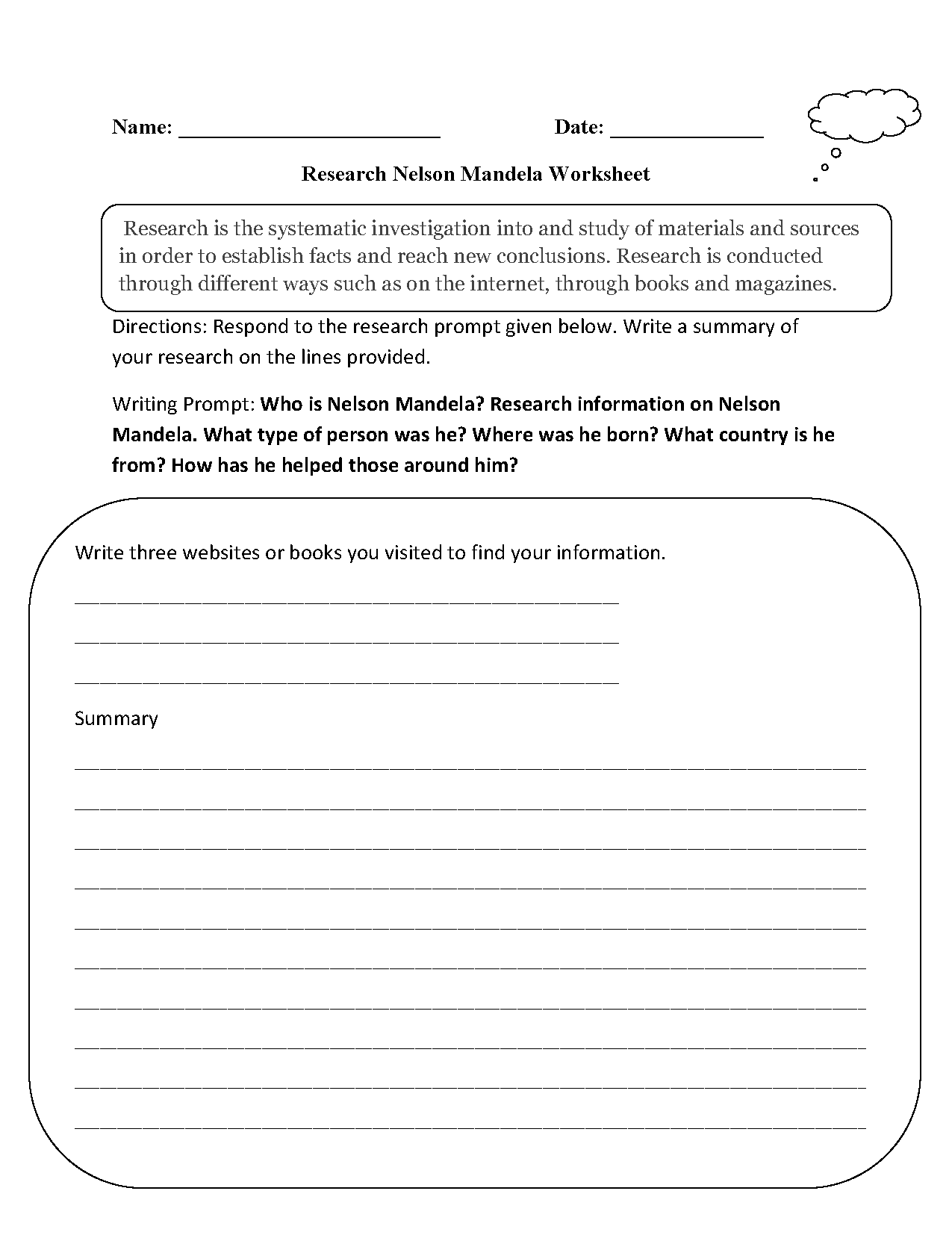 It's just a graphic of Nerdy Nelson Mandela Worksheet