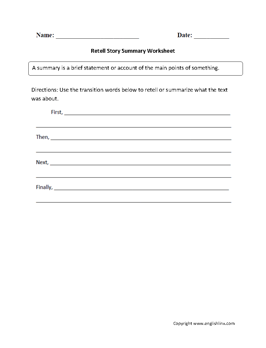 Worksheets Summary Worksheets 5th Grade reading worksheets summary worksheets