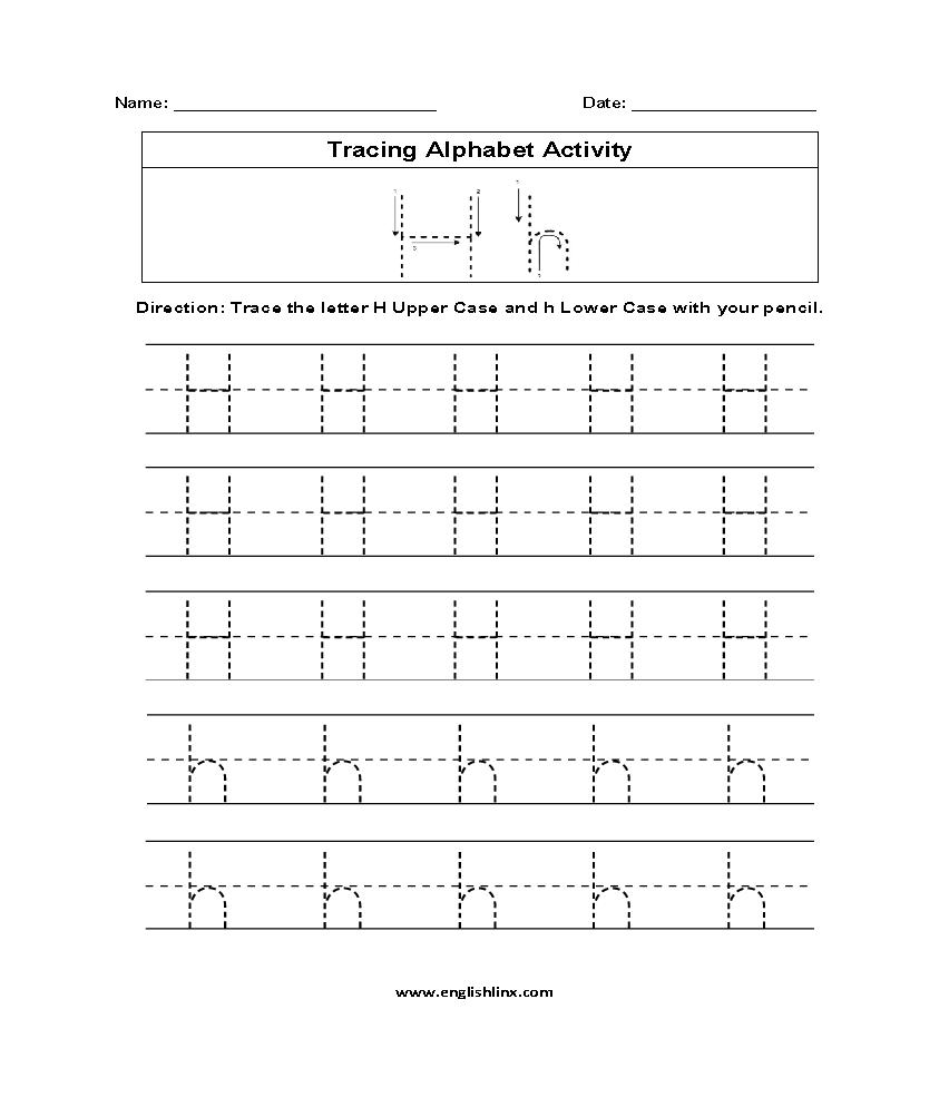alphabet worksheets tracing alphabet worksheets. Black Bedroom Furniture Sets. Home Design Ideas