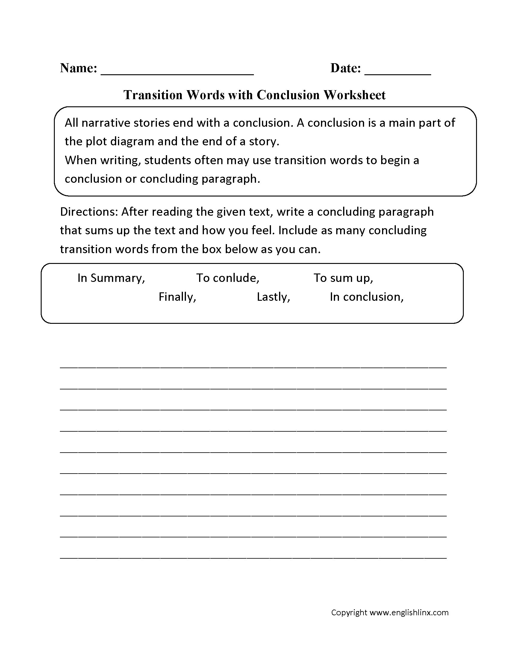 Draw Conclusions Worksheet 5Th Grade Worksheets for all | Download ...