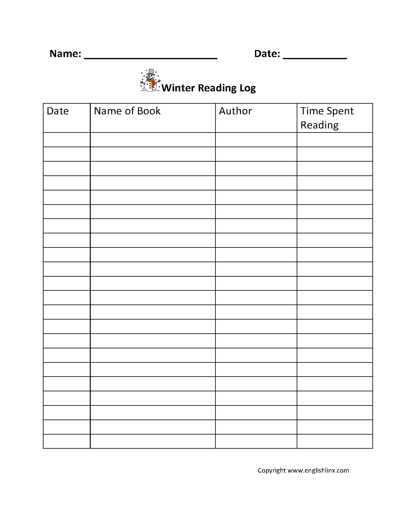 graphic regarding Printable Reading Logs With Parent Signature identify Looking through Worksheets Looking at Logs